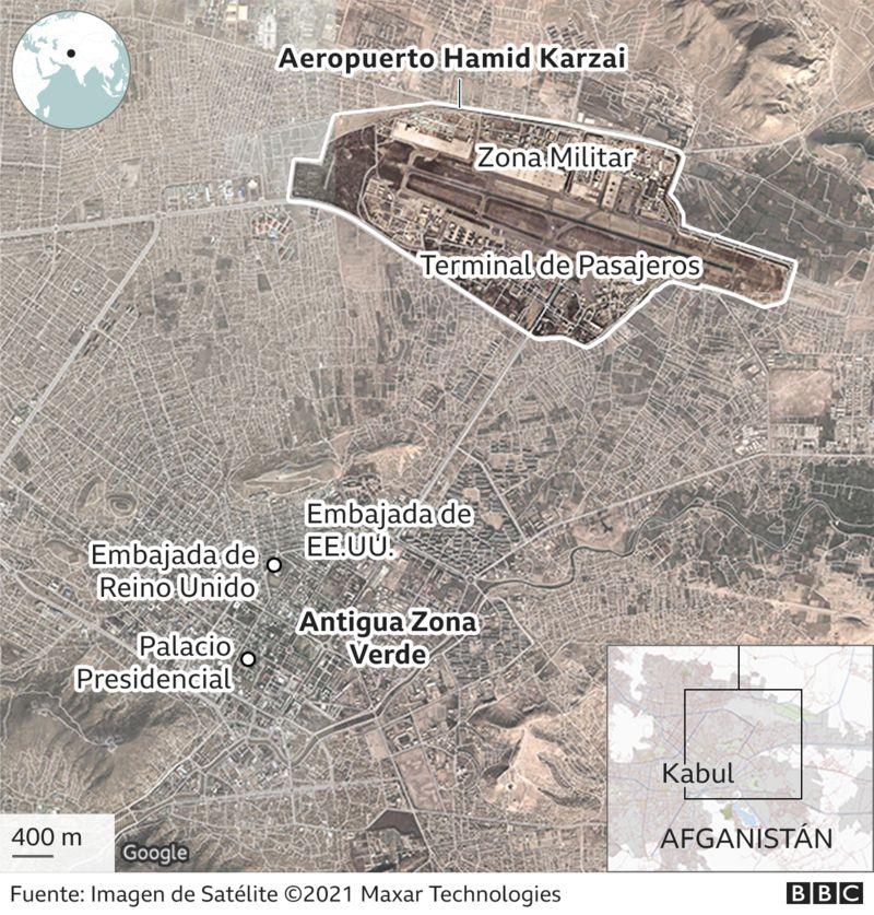 Al menos 60 muertos en atentados explosivos fuera del aeropuerto de Kabul - Prensa Libre