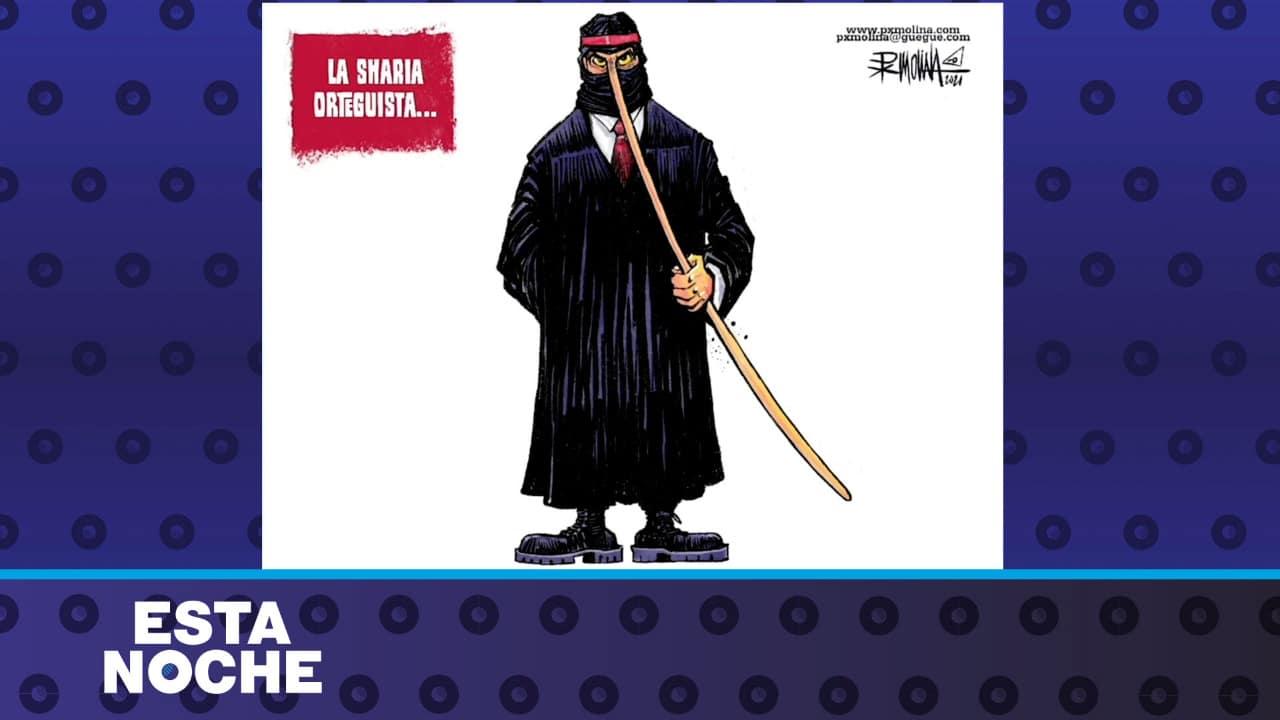 Caricatura de PXMolina: La Sharia de Ortega