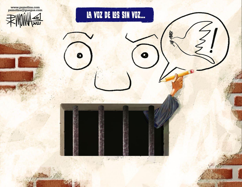 Caricatura del día - La voz de los sin voz