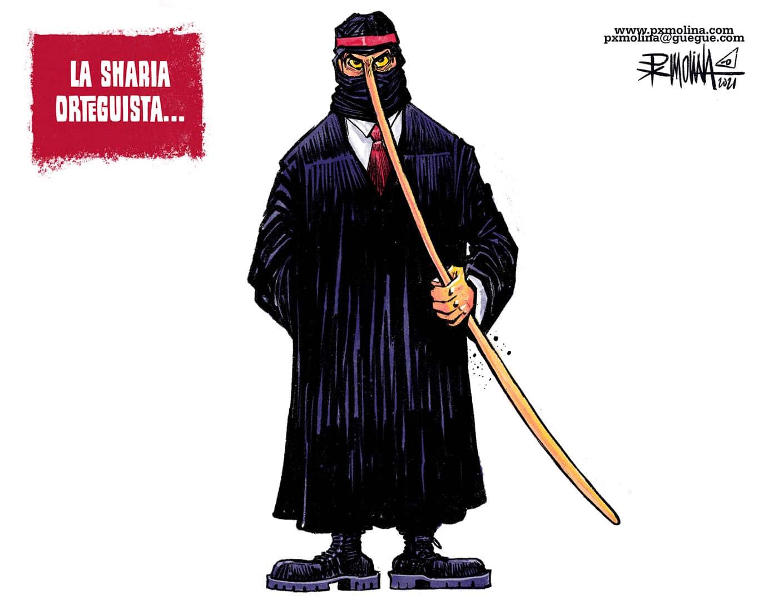 Caricatura del día    Ortega Sharia