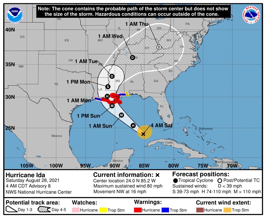 """Costa este de Estados Unidos se prepara para huracán """"extremadamente peligroso"""" - Prensa Libre"""