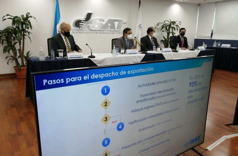 El SAT denuncia que los 4.000 millones de Q no coinciden en las exportaciones totales de 2020 y 2021 – Prensa Libre