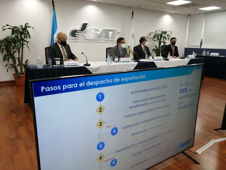 El SAT denuncia que los 4.000 millones de Q no coinciden en las exportaciones totales de 2020 y 2021 - Prensa Libre