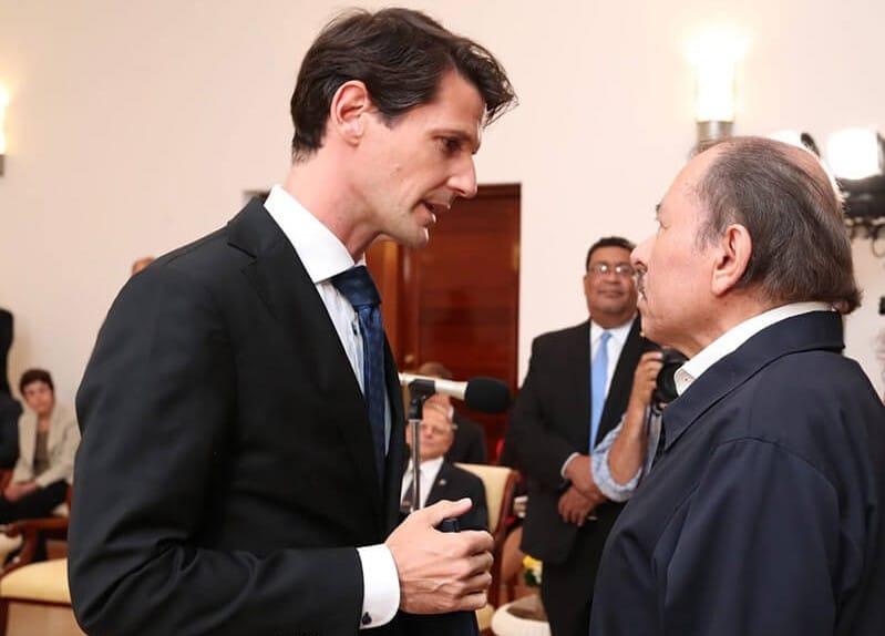 El embajador de la UE, Pelayo Castro, concluye misión en Nicaragua
