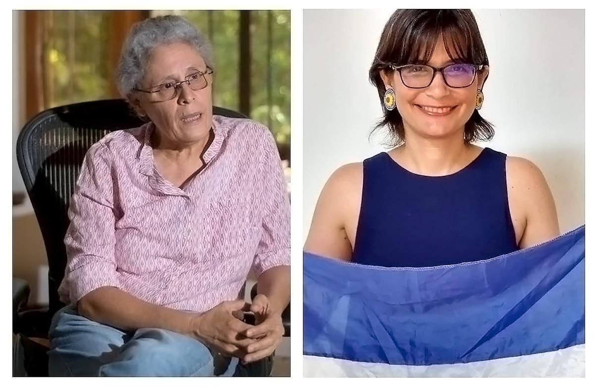 Dora María Téllez y Ana Margarita Vijil