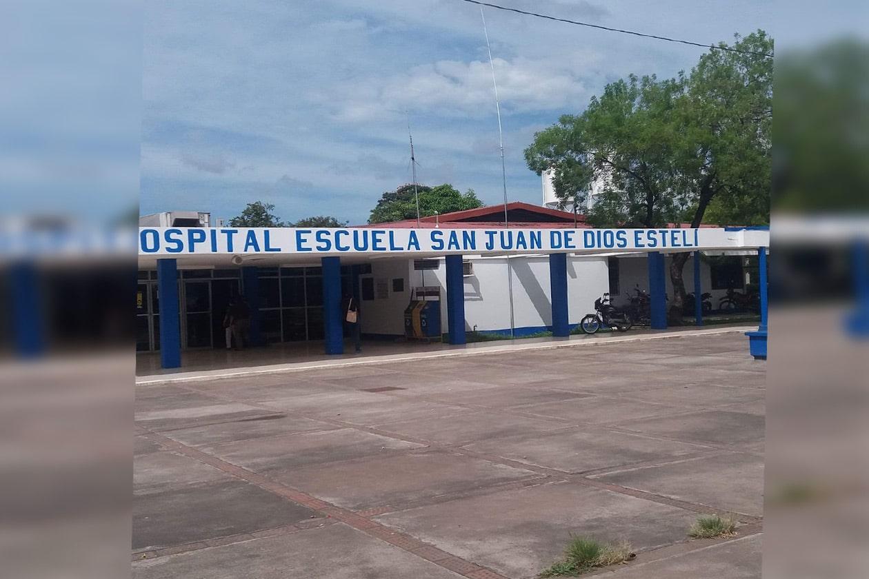 Hospital de Estelí al límite de capacidad por epidemia de covid-19