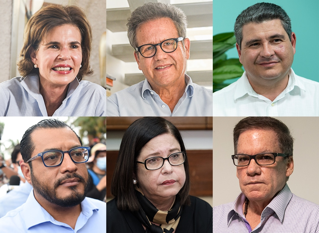 Opositores detenidos en Nicaragua