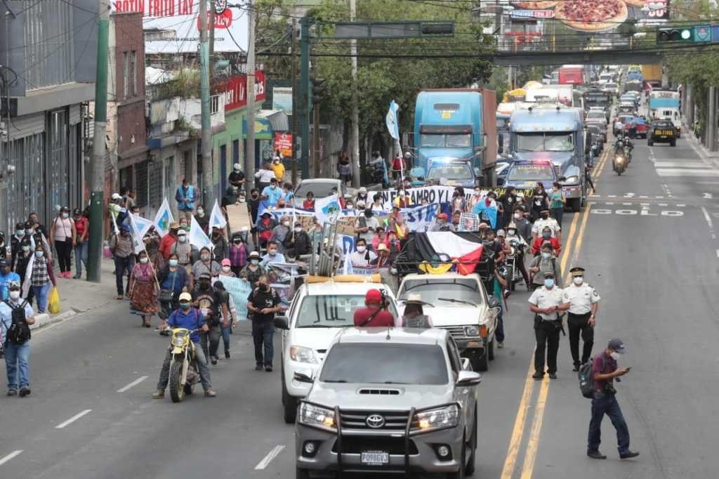 Organizaciones convocan manifestaciones contra Giammattei y Porras este jueves y viernes - Prensa Libre