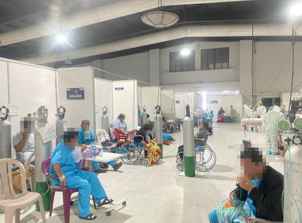 Seis hospitales llenos de pacientes graves con covid-19, a medida que la pandemia gana terreno - Prensa Libre