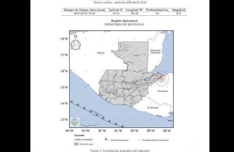 Sismo de 5.7 grados sacude partes de Guatemala – Prensa Libre