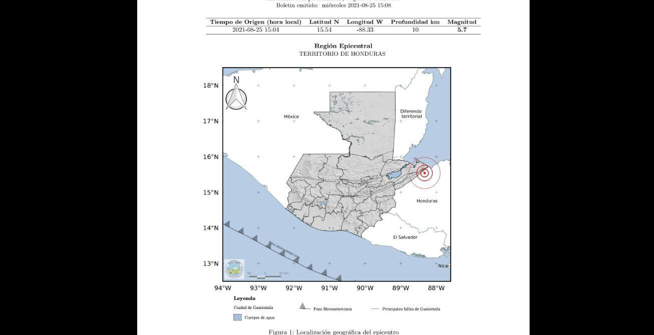 Sismo de 5.7 grados sacude partes de Guatemala - Prensa Libre