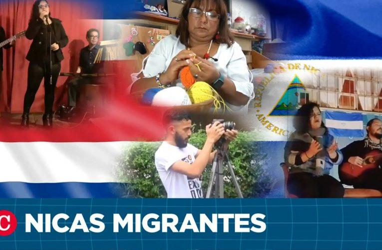 Artistas nicaragüenses nacidos en el exilio en Costa Rica