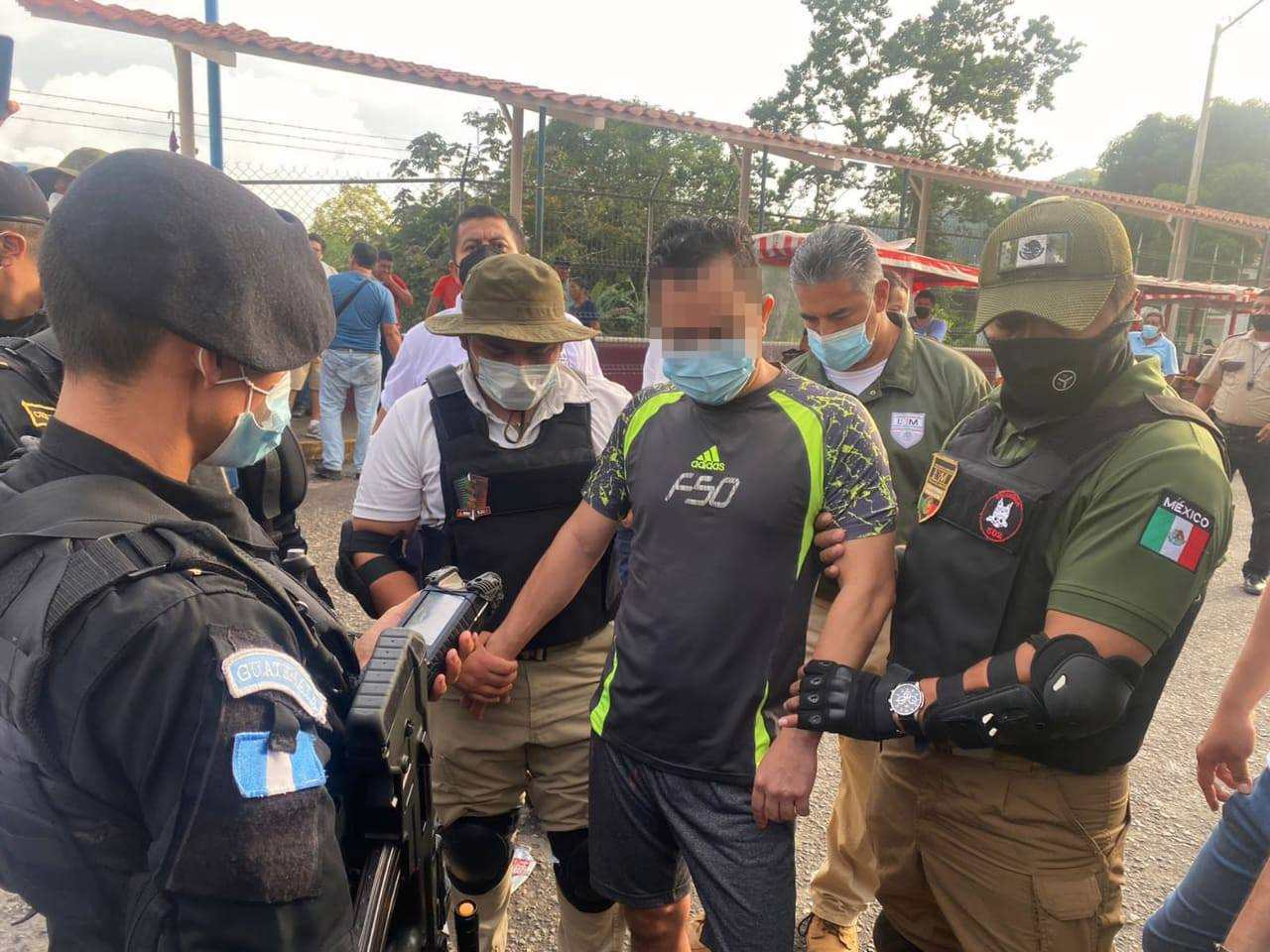 Capturan a guatemalteco en Tapachula requerido por Estados Unidos por narcotráfico - Prensa Libre
