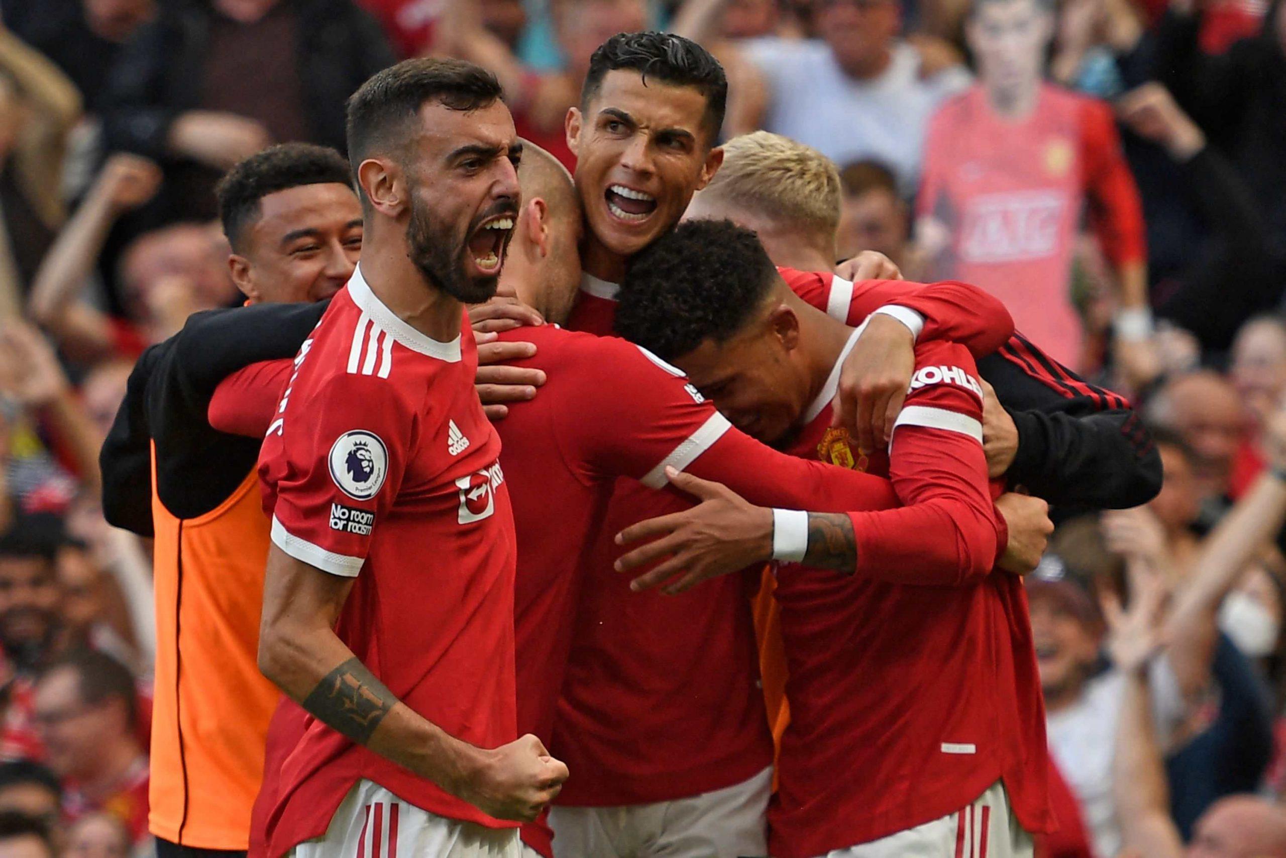Cristiano celebró el regreso con doblete y liderazgo del United en la Premier League - Prensa Libre