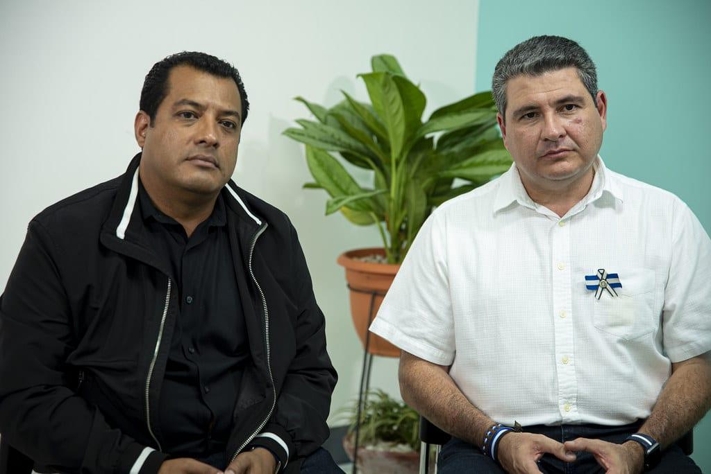 Denuncian la tortura psicológica contra Félix Maradiaga y Juan Sebastián Chamorro