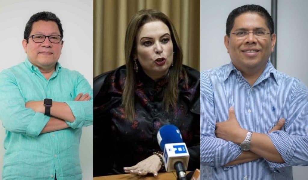 """Dos periodistas y ex primera dama acusados de """"conspiración"""""""