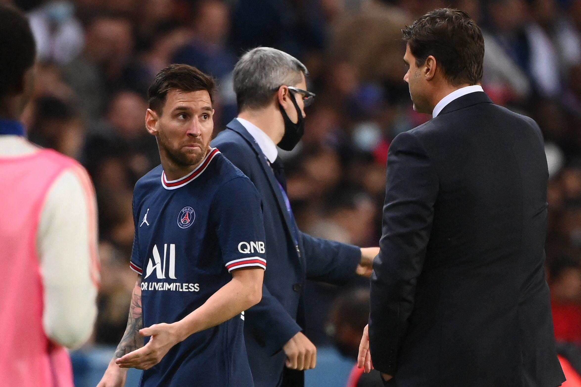 En medio de la polémica por su sustitución por Pochettino, Lionel Messi será retirado del PSG por lesión para el próximo partido de la Ligue 1