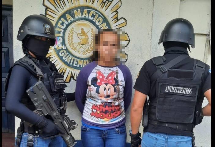 Fingió su secuestro, Isabel-Claudina recibió una alerta y la capturaron cuando recibió el pago del rescate - Prensa Libre