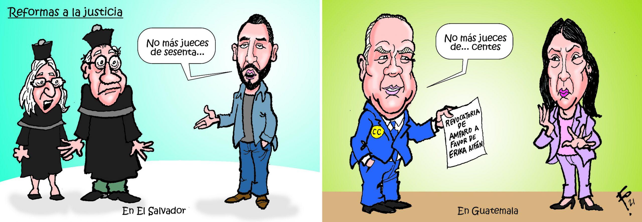 Fo: Reformas de la justicia