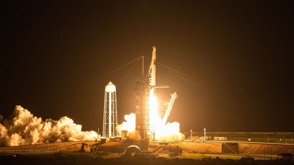 La misión de astronauta aficionado Inspiration4 va al espacio - prensa libre