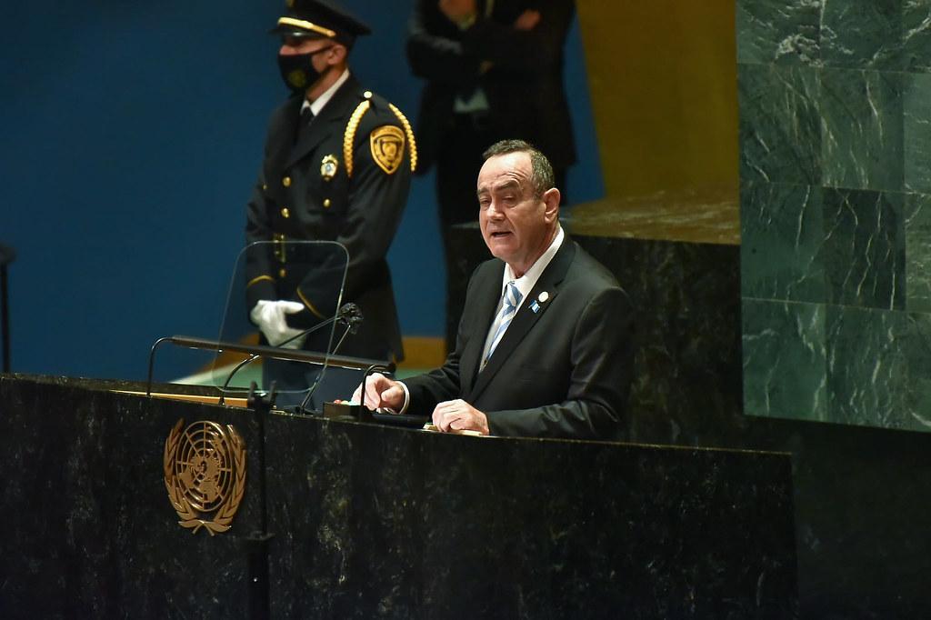 Los temas que abordó Giammattei y los que Giammattei planteó ante la Asamblea General de Naciones Unidas - Prensa Libre