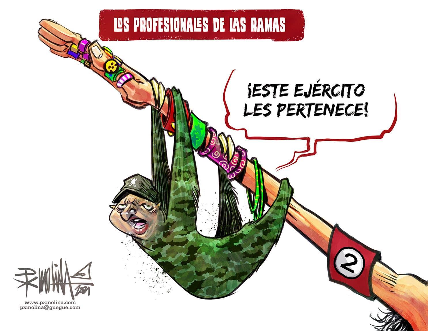 caricatura Px Molina
