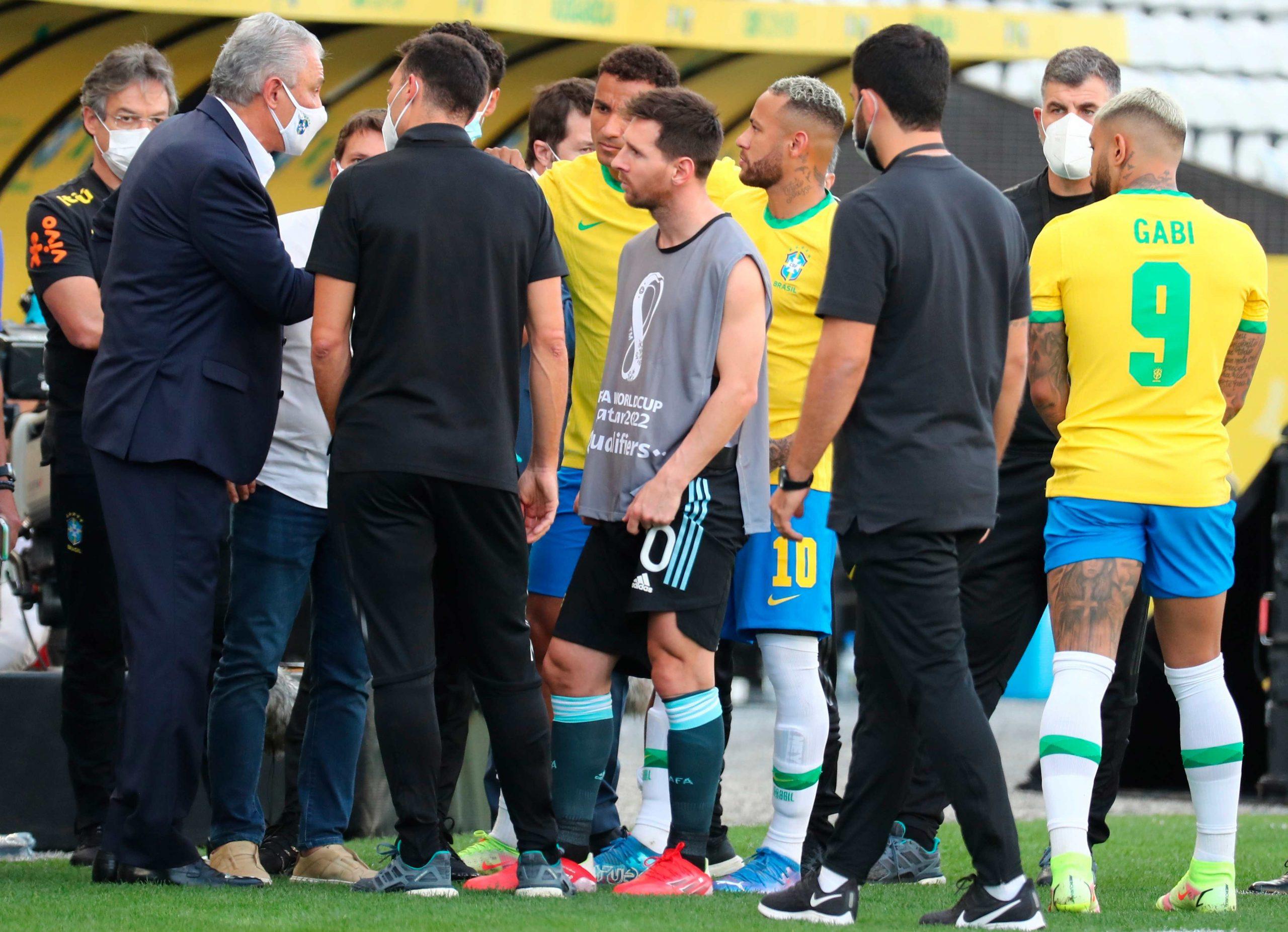 Suspendido clásico Brasil-Argentina y el gobierno brasileño pide la expulsión de 4 futbolistas argentinos - Prensa Libre
