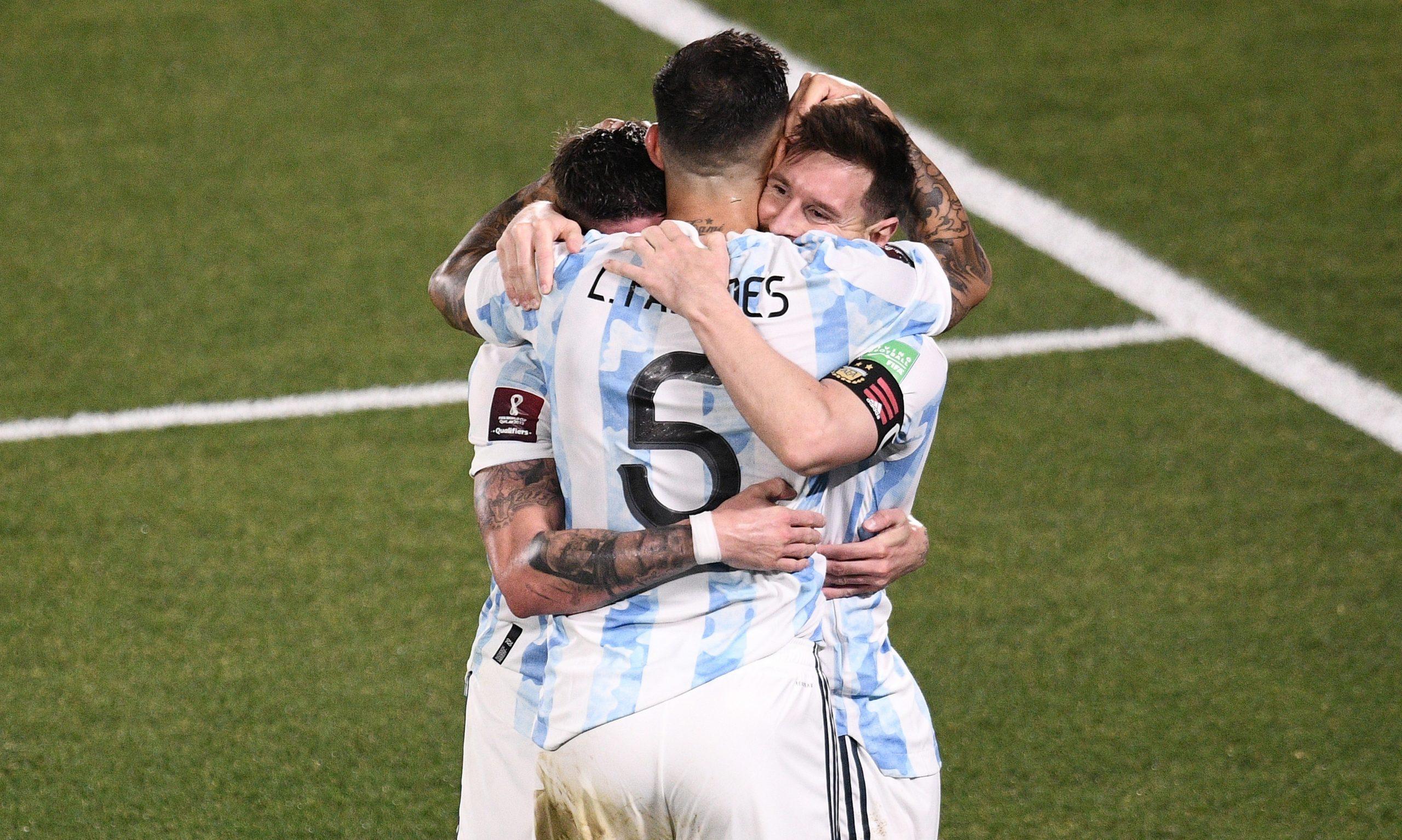 Argentina vence 3-0 a Uruguay, Messi llega a 80 goles con la Albiceleste - Prensa Libre