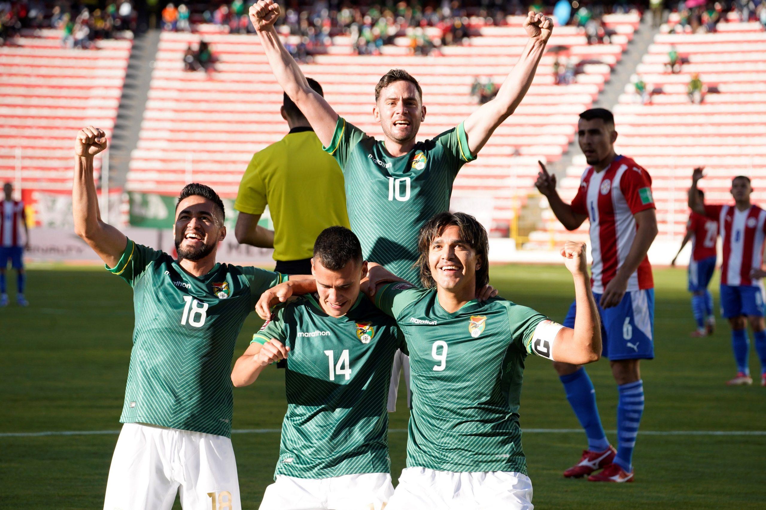 Bolivia sale al aire con segunda victoria consecutiva, se mete en reyerta y Paraguay se estanca - Prensa Libre