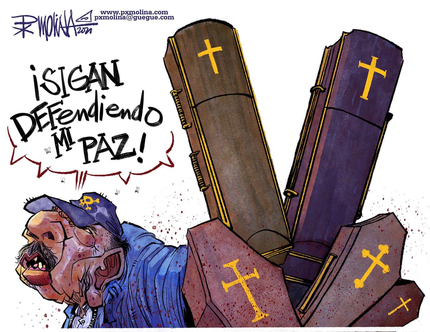 Caricatura del día    Defiende tu paz