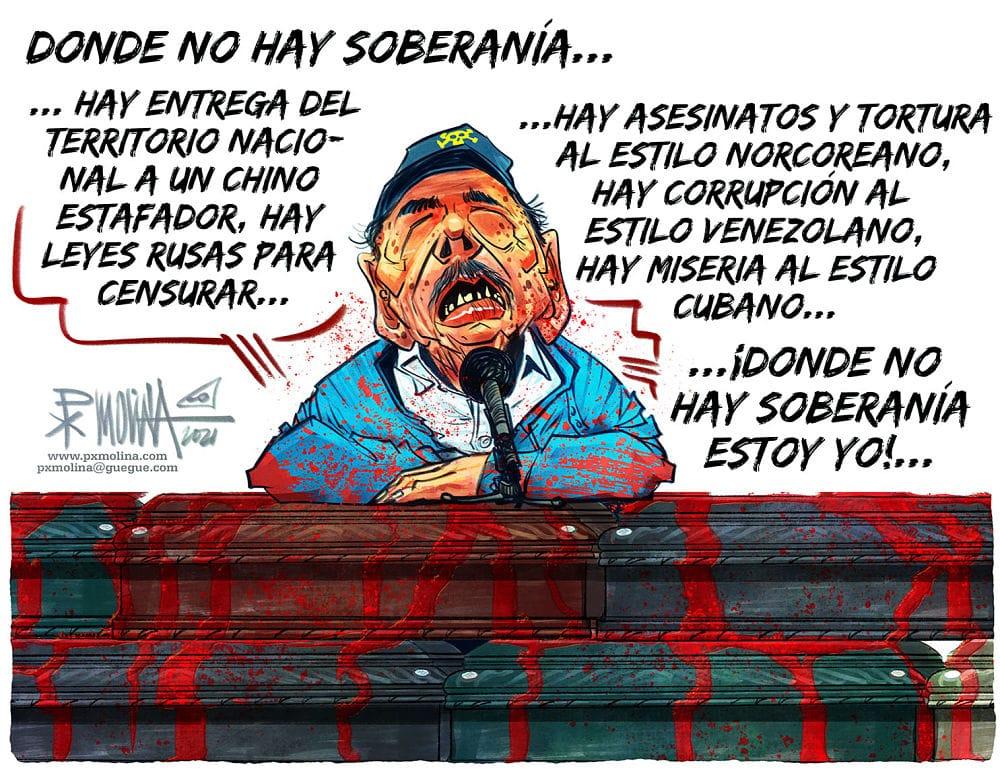 Caricatura del día |  Donde no hay soberanía