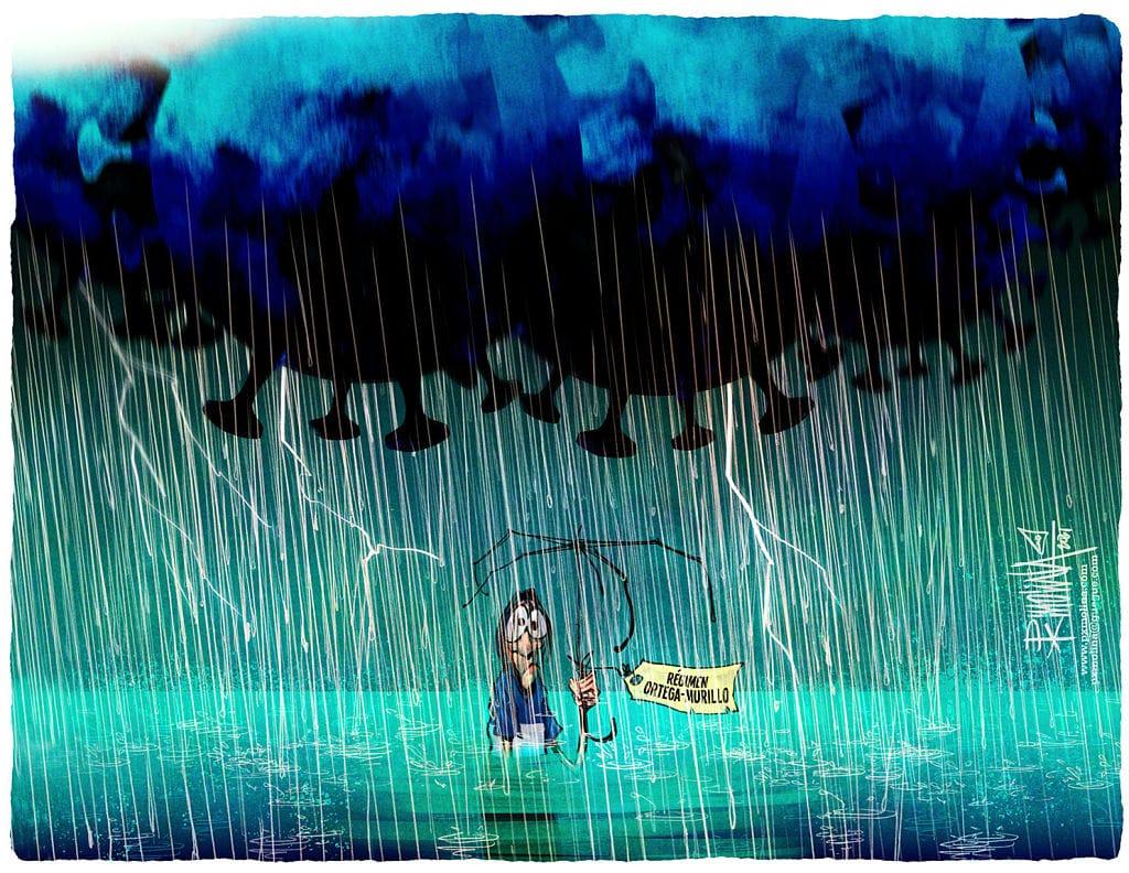 Caricatura del día |  Tormenta DOS