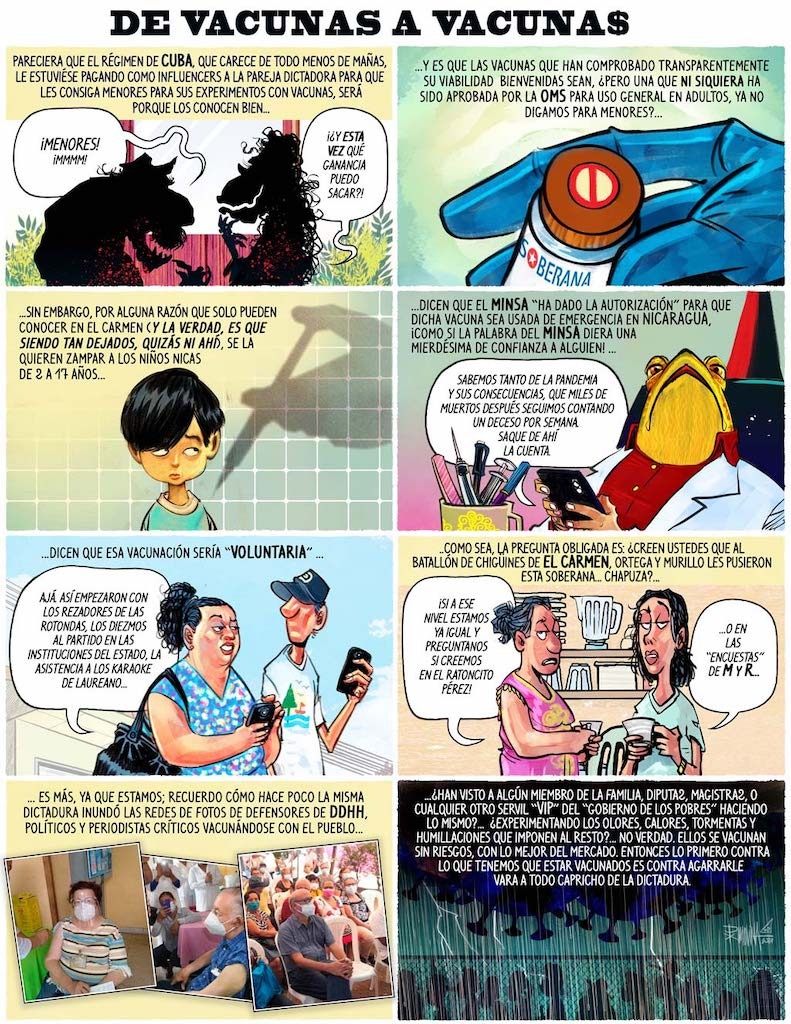 Caricatura semanal |  De vacunas a vacunas $