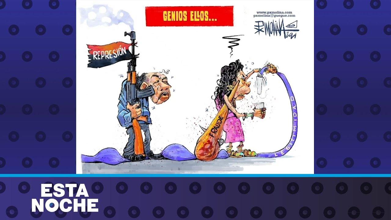 Cartoon PXMolina: los genios