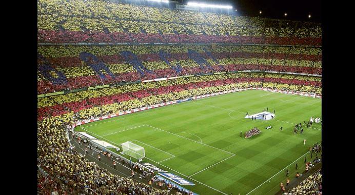 El Camp Nou podrá acoger al 100% del público para la Champions y el clásico español - Prensa Libre