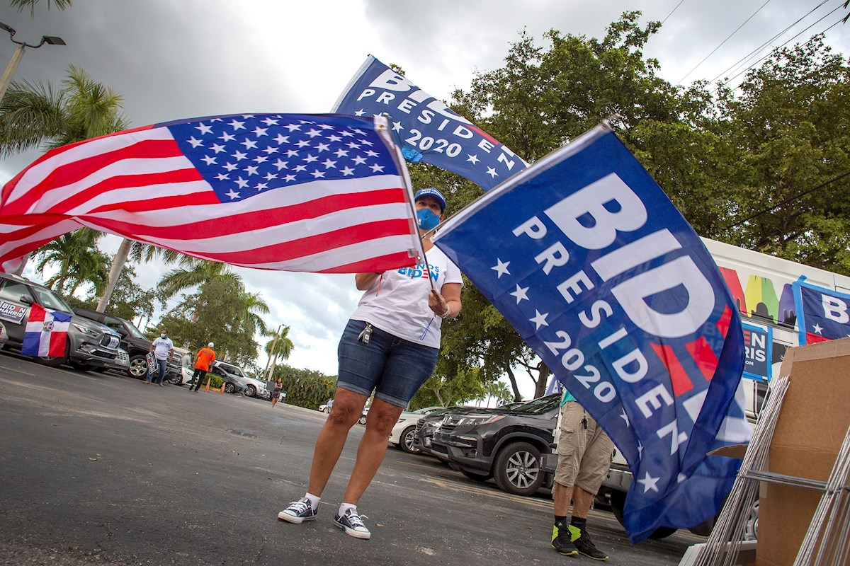 Partidarios de Joe Biden