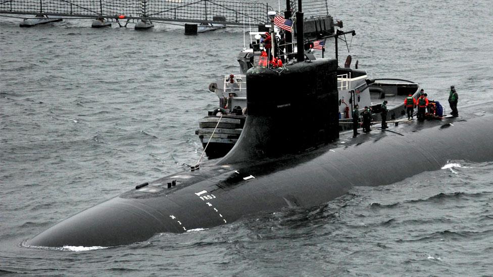 El extraño choque de un submarino nuclear estadounidense cerca de China por el que Pekín solicita aclaraciones a Washington - prensa Libre