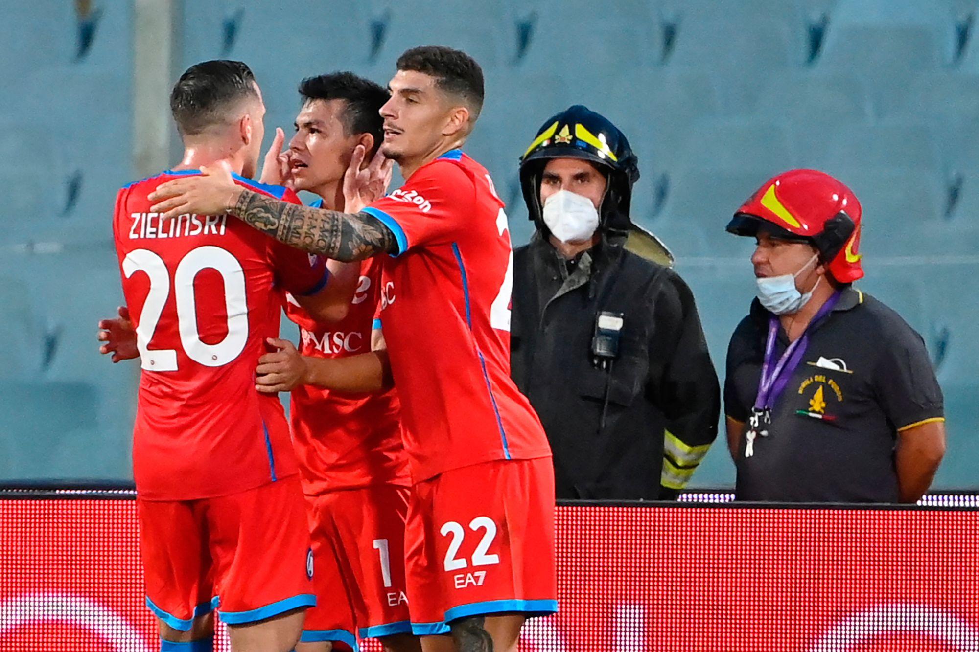 El líder del Napoli sigue imparable, el Milan domina al Atalanta en la Serie a - Prensa Libre