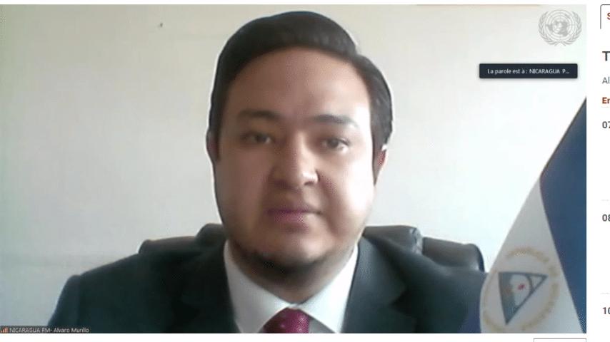 El sobrino de Rosario Murillo guarda silencio sobre temas de la ONU
