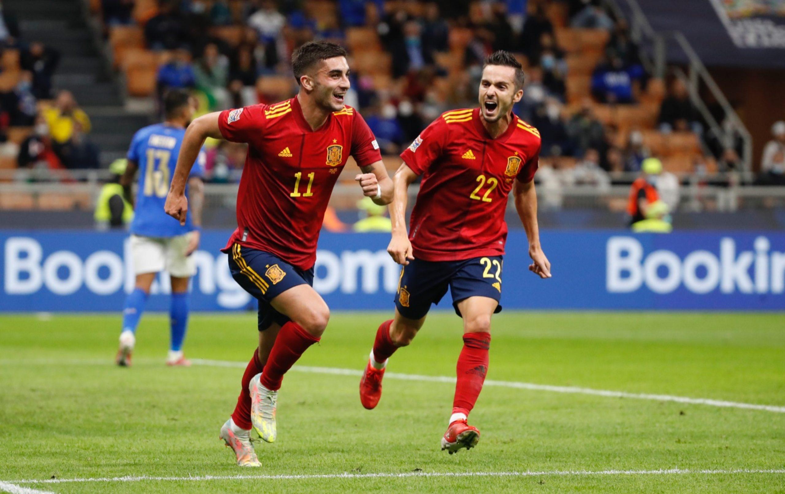 España se venga de Italia en la Nations League y pone fin a la histórica racha invicta de 37 partidos - prensa Libre