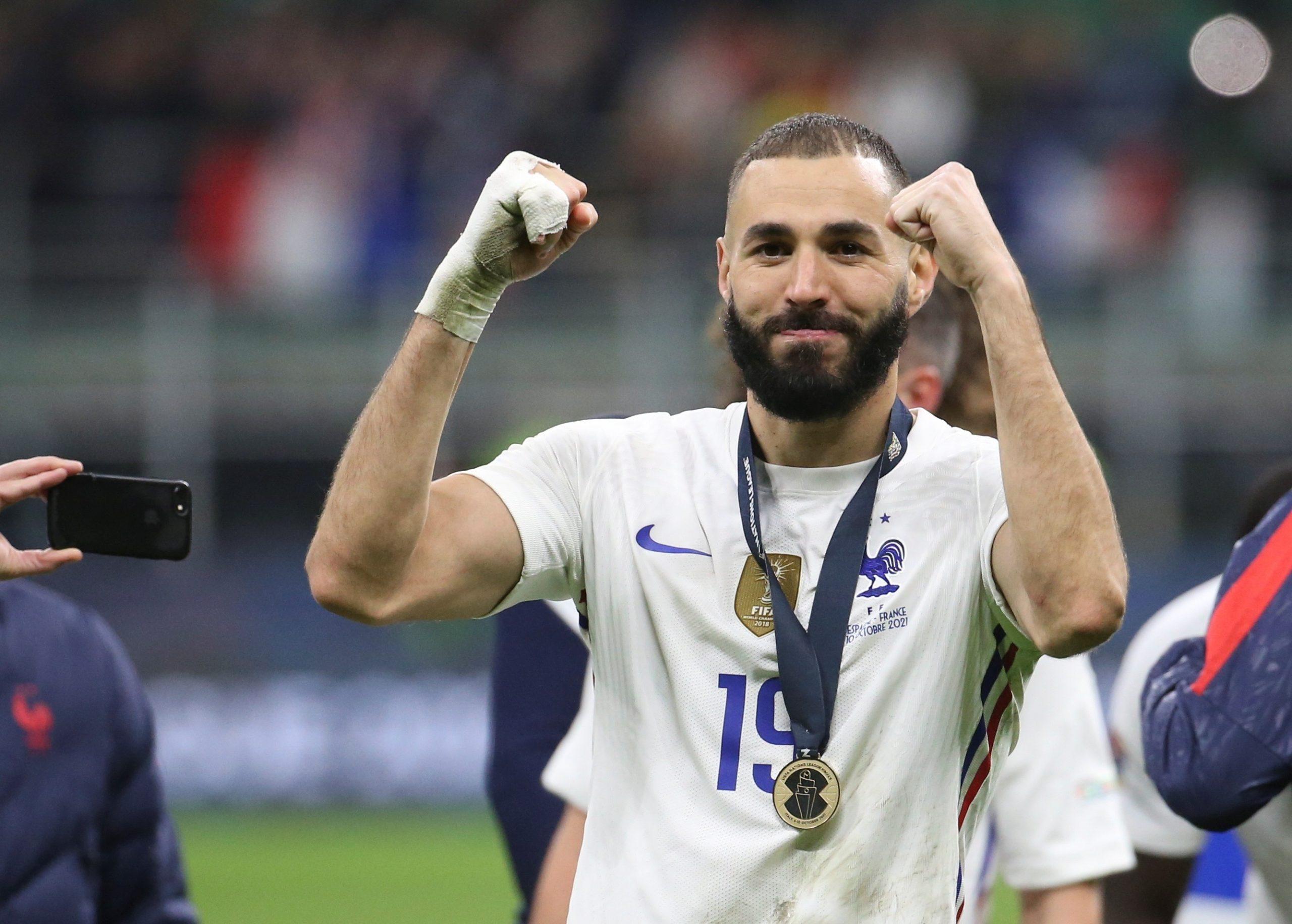 """Este equipo nunca se rinde"", dice Benzema de Francia - Prensa Libre"