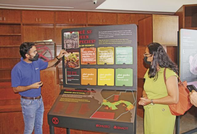 'Extinción', la nueva exposición itinerante del Biomuseo