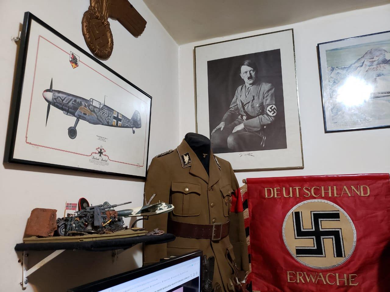 """Fueron a arrestar a un pedófilo y encontraron """"material monstruoso"""" de referencia nazi por valor de más de 3 millones de dólares."""