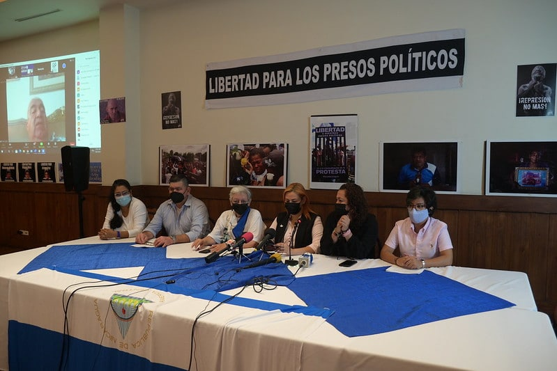 Grupos de oposición nicaragüenses trazan hoja de ruta en el exilio
