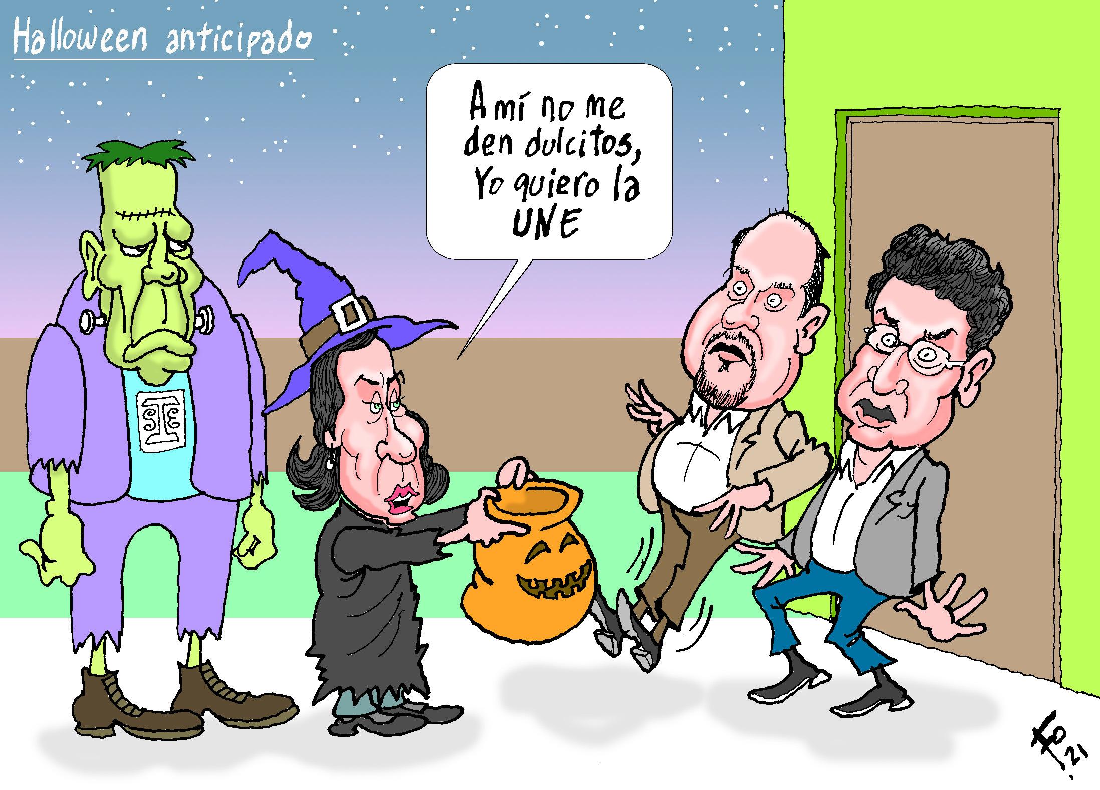 Halloween planeado