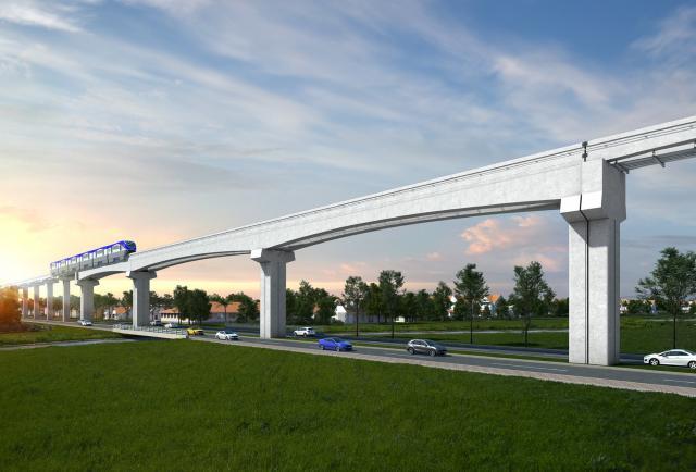Inicio de la construcción de la primera estación de la línea 3 del metro de Panamá