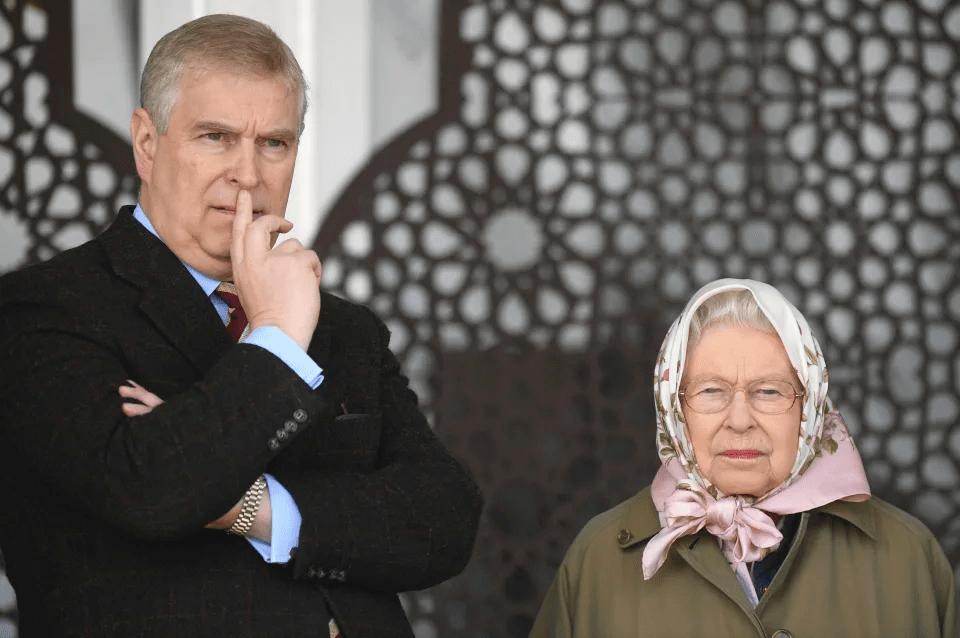 Isabel II paga millones de su fortuna para defender al príncipe Andrés