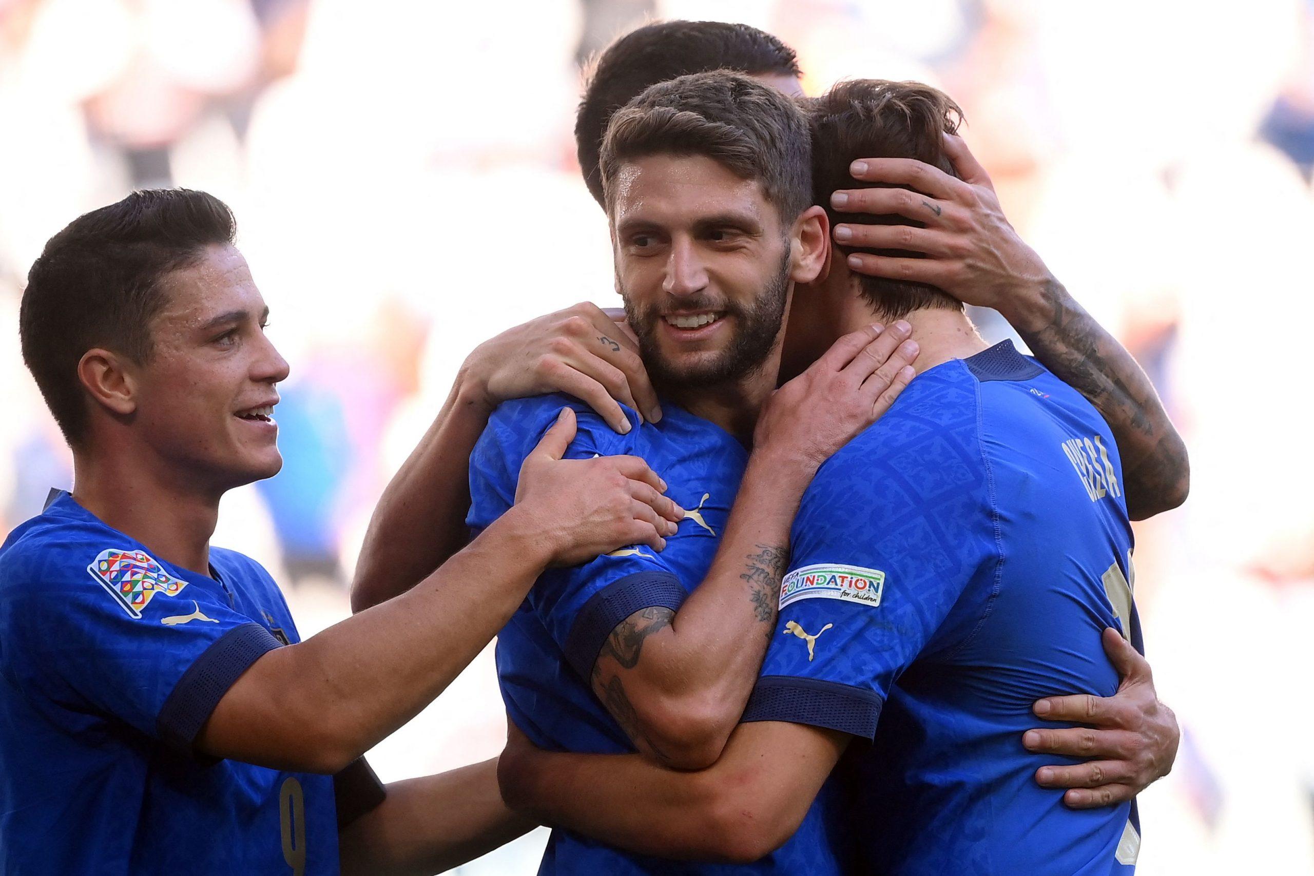 Italia puede con Bélgica y alcanzó el tercer puesto en la Liga de Naciones - Prensa Libre
