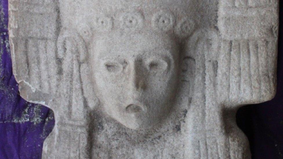 """La """"joven de Amajac"""" que reemplazará a la histórica estatua de Colón en la Ciudad de México - Prensa Libre"""