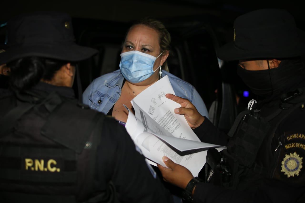 La sobrina de Sandra Torres es detenida por la PNC, tenía seis órdenes de aprehensión vigentes - Prensa Libre